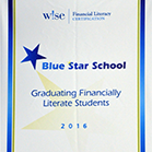 Blue Star School Banner